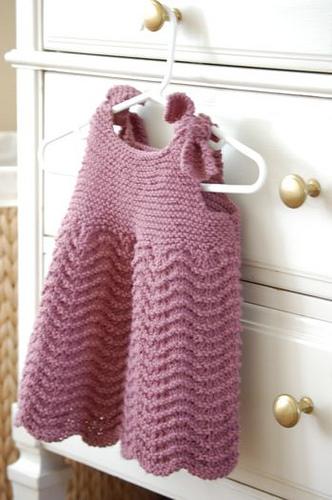 Vestina punto onda la maglia di marica - Punto a punto per i bambini di 3 anni ...