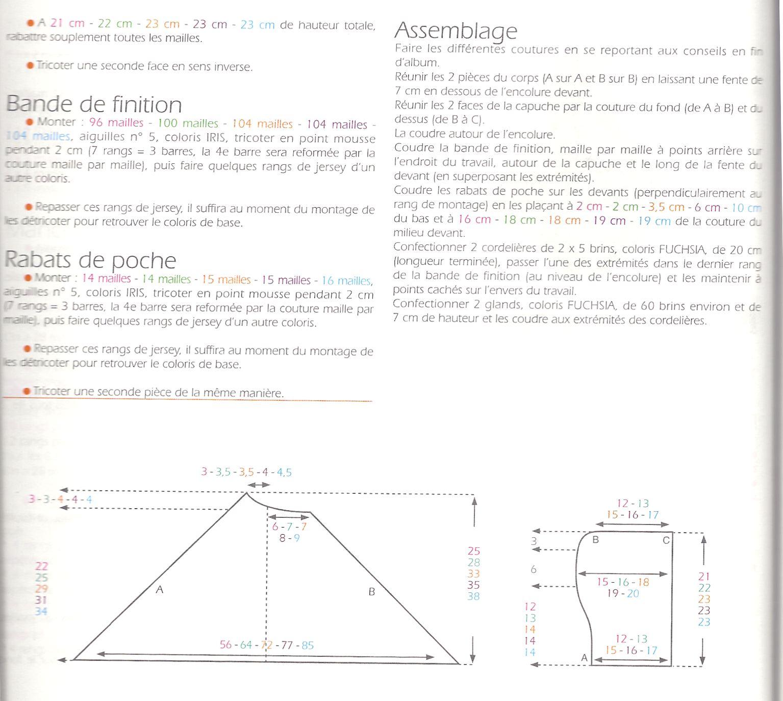 Estremamente poncho viola con traduzione misure 3-6-12-18-24 mesi | La Maglia  VR44