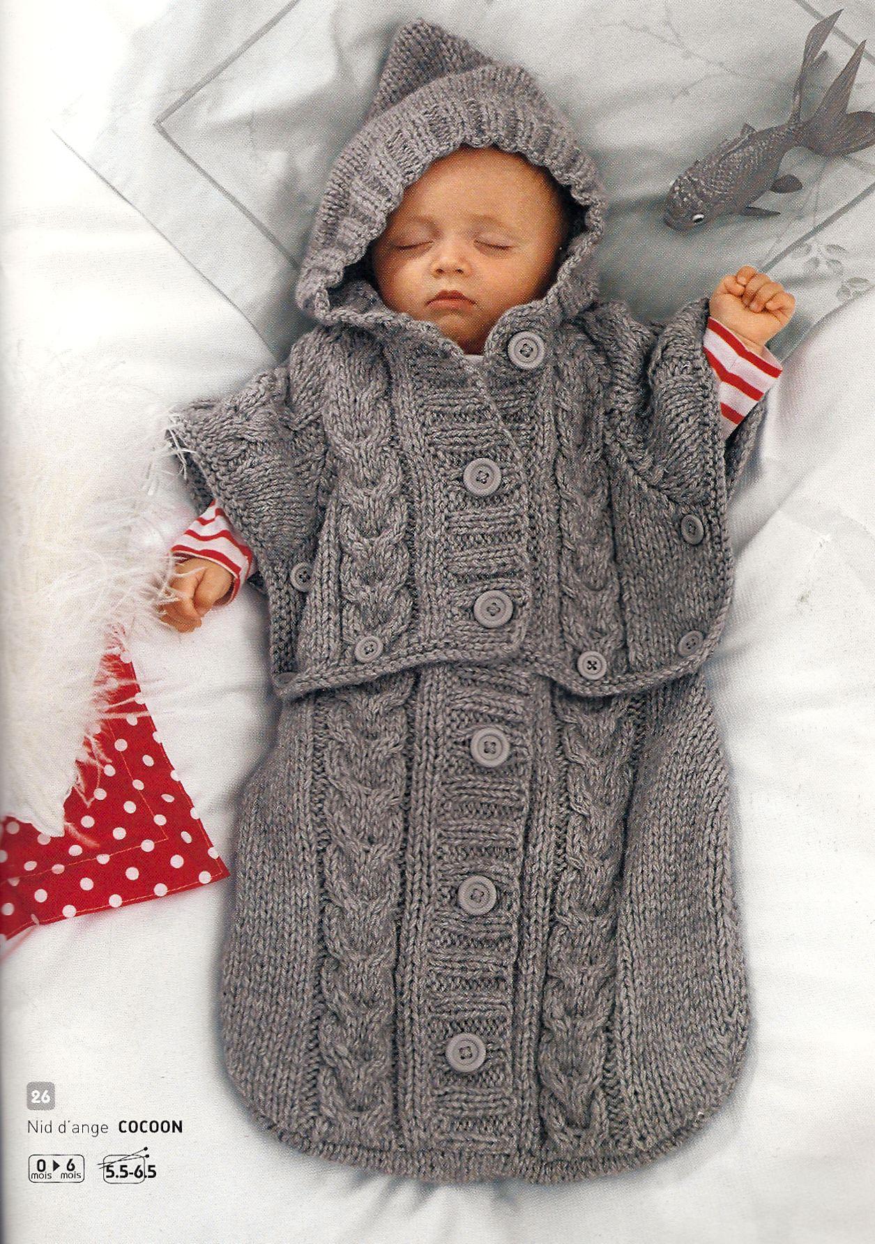 Вязаная своими руками одежда для новорожденных