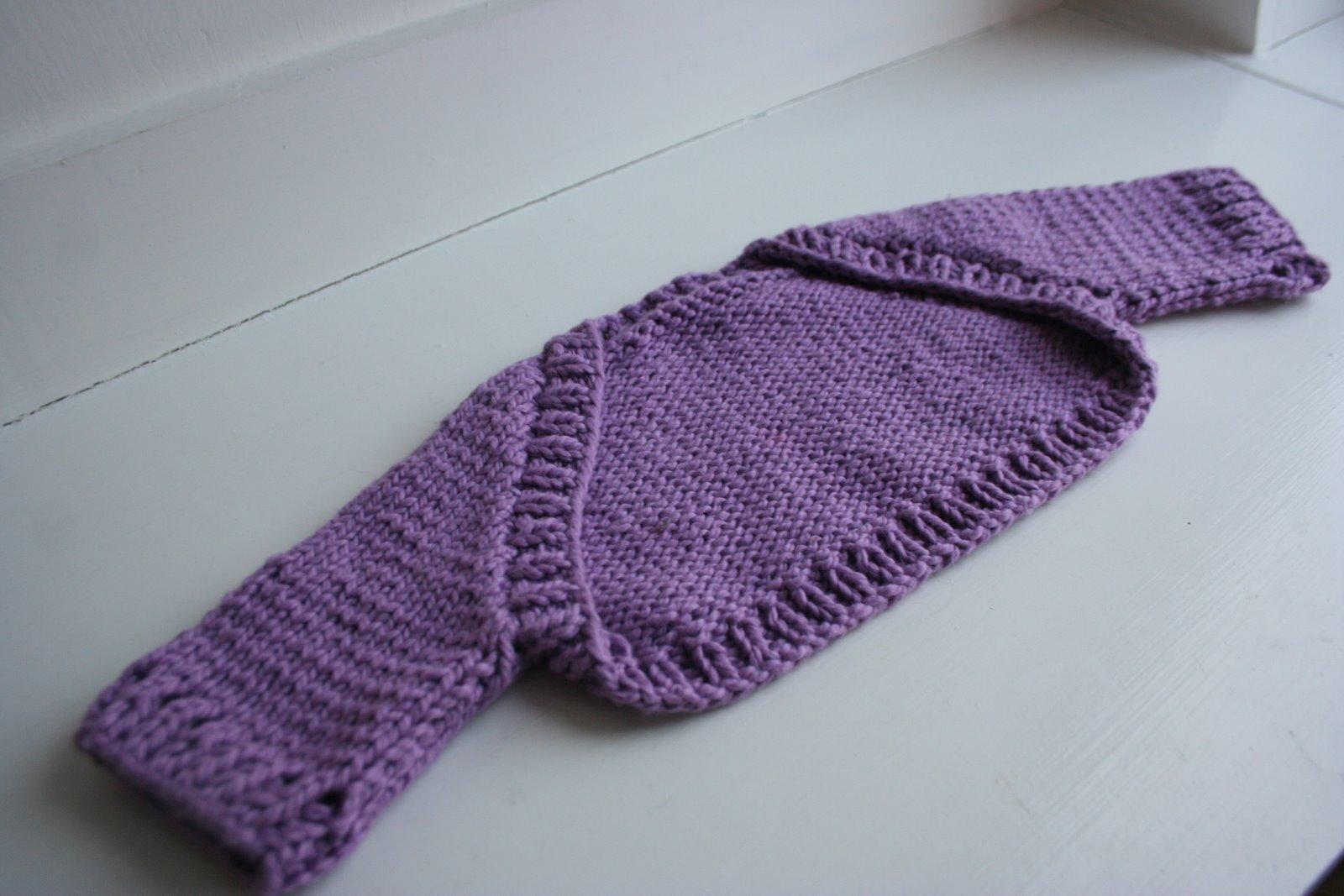 Free Bolero Knitting Pattern For Child : ?BABY SHRUG ?   ovvero:coprispalle,scaldacuore, cache coeur (o chauffe coeur)...