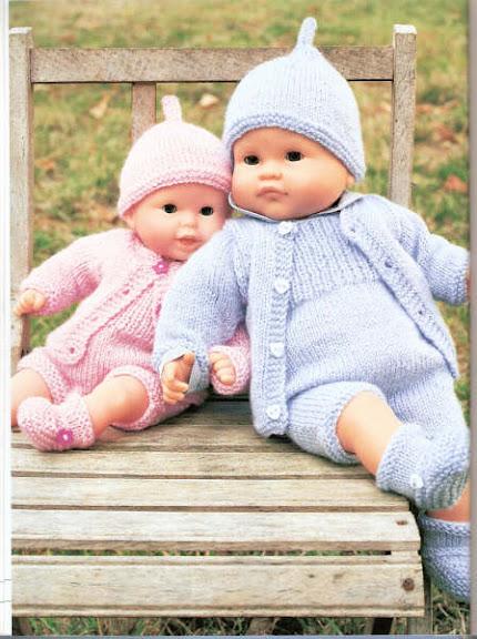 Ancora Vestiti Per Le Bambole La Maglia Di Marica