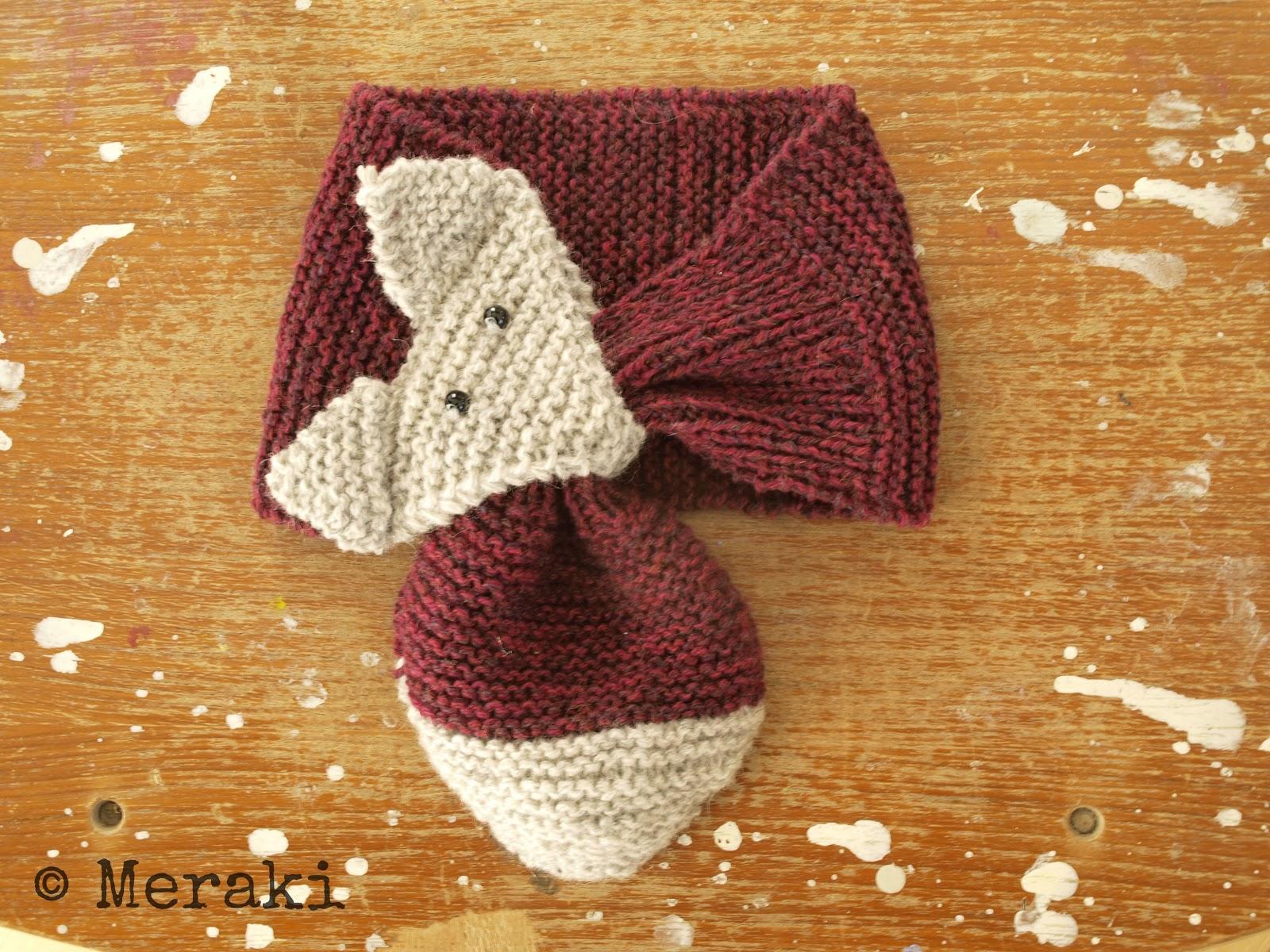 Knitting Pattern For Fox Scarf : sciarpa bimbo ai ferri La Maglia di Marica