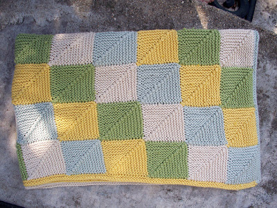 Mitered o domino la coperta la maglia di marica for Piccoli piani di coperta