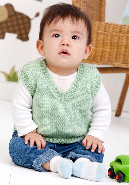 Exceptionnel gilet a maglia bambini | La Maglia di Marica KH98