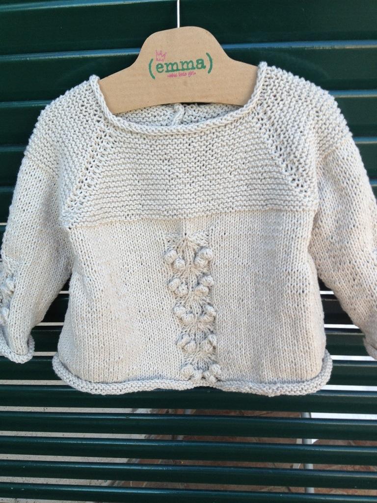 Punto nocciolina la maglia di marica - Punto a punto per i bambini di 3 anni ...