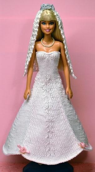 Barbie Abito Con Tanti Volant E Abito Da Sposa La Maglia Di Marica