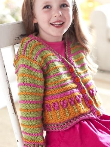 Knitting Patterns For Girl Sweaters : SCHEMI LAVORI A MAGLIA BAMBINI La Maglia di Marica
