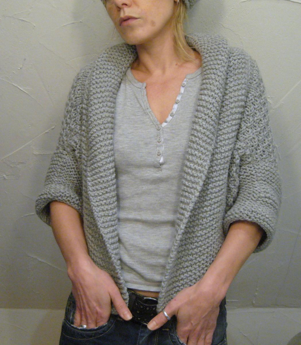 Gilet Knitting Pattern Free : coprispalle La Maglia di Marica