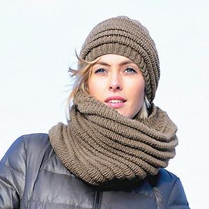 knitting patterns knits for women free knitting pattern cowl and hat