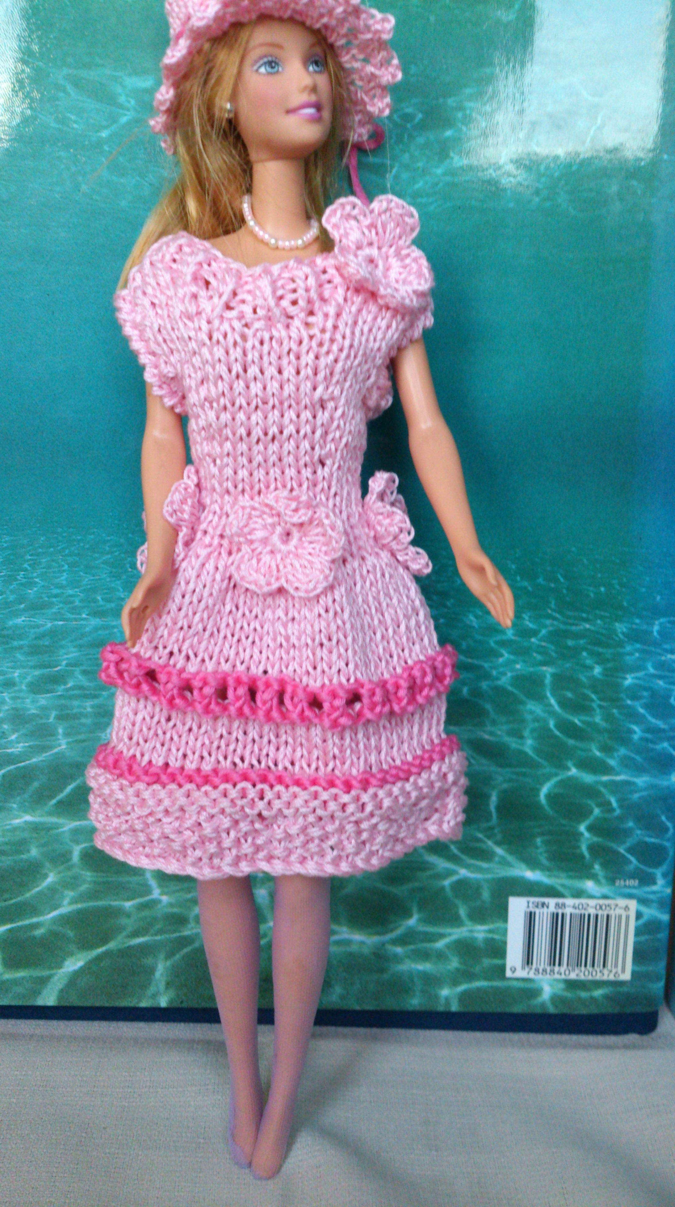 Abiti per le barbie la maglia di marica for Modelli di casa gratuiti