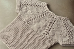 Knit_Lace Short Sleeved Pullover_DSC_1410