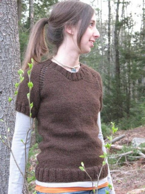 Free Top Down Knitting Patterns : Un pull topdown con lo scollo profondo La Maglia di Marica