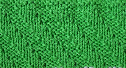 Baby_Blanket_greenl_line_pattern