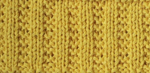 Baby_Blanket_yellow_line_pattern