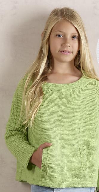Verde pistacchio il pull a legaccio da 2 a 10 anni ferri for Modelli di casa gratuiti